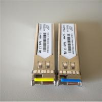 Wholesale 155M WDM BiDi single fiber optical transceiver SFP module from china suppliers