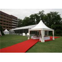 Wholesale 16 Sqm Commercial Pagoda Party Tent UV - Resistant 420D Polyester For Trade Fairs from china suppliers