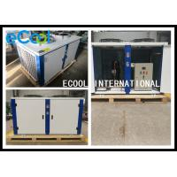 Low Noise Freezer Condensing Unit For Warehouse And Cold Storage for sale