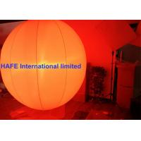 Wholesale 1.3M 2M Inflatable Lighting Decoration Sphere Crystal Balloons With DMX512 Box from china suppliers
