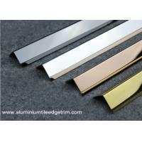 Wholesale 35mm x 35mm Stainless Steel Corner Guards For Five Star Hotel Easy Installation from china suppliers