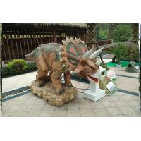 Wholesale Playgrounds Realistic Animatronic Dinosaur Lively And Interesting Interactive Steel Frame from china suppliers