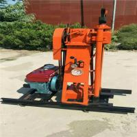 China Pakistan Hot sale Geotechnical Soil Test  Drill Rig With Mud Pump for sale