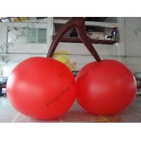 Wholesale Red PVC 3m High Cherry Shaped Balloons For Trade Fair Display from china suppliers