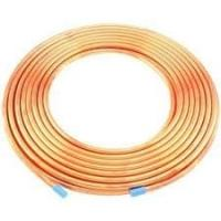 China 0.32 - 0.36mm 12 x 12 x 3 row  seamless Refrigeration copper tube heat exchanger on sale