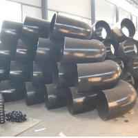 Wholesale Seamless Pipe Fittings Hydraulic Carbon Steel Elbow Round Head With 37.5 Degree Beveling Angle from china suppliers