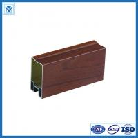 Wholesale Wooden color anodized aluminum window profiles from china suppliers