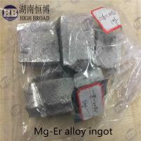 Best Magnesium Erbium master alloy , MgEr10 , MgEr 20 alloy wholesale