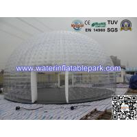 Wholesale Event  Transparent Bubble Tent For Bar , Inflatable Large Dome Tent from china suppliers