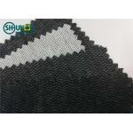 China Polyester Viscose 60gsm Brushed Woven Interlining Weft Insert Interlining Shrink Resistant for sale