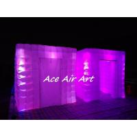 Wholesale portable wedding party used tent inflatable photo booth enclosure with led for sale from china suppliers