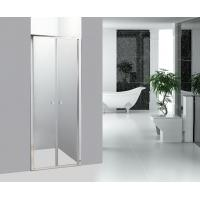 Best Straight Shower Screen Bathroom Shower Enclosures Double Pivot Shower Doors wholesale