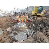 China Excavator Mounted Concrete Pile Breaker For Pile Foundation Engineering KP380A on sale