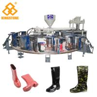 Wholesale 12 Stations 1/2 color Boot Injection Molding Machine, Gumboots Making Machine from china suppliers