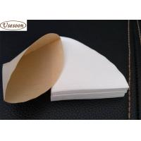 China V02 size coffee paper filters white color 2-4 cups for sale