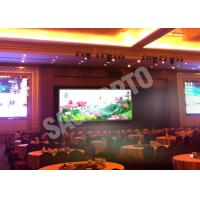 Wholesale Hire High Resolution Indoor Advertising LED Display Video Wall 17222 Dots / ㎡ Programmable from china suppliers