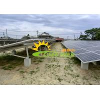 Wholesale Professional Design Solar Panel Ground Mounting Systems Open Field Installation from china suppliers