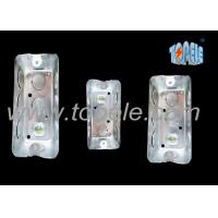 Wholesale Galvanized Steel Electrical Boxes And Covers Rectangular Iso Certificate from china suppliers