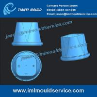 Buy cheap IML thin wall container mould, Two cavitie in mould labelling thin wall from wholesalers
