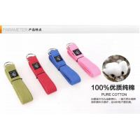 China Metal d Ring 8 Feet Yoga Stretch Strap Heat Resistant For Fitness on sale