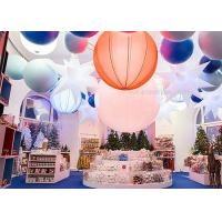 Wholesale 1.6M  Inflatable Lighting Decoration 240W , Led Hanging Outdoor Christmas Snow Globe Lights from china suppliers