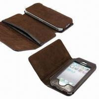 Wholesale Leather Wallets for iPhone 5, Extra Card, Cash Slot Function from china suppliers