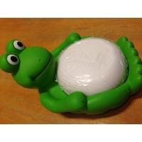 Wholesale Animal Design Bathroom Plastic Soap Dish , Duck / Frog Soap Dish Non Phthalate Vinyl from china suppliers