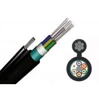 Wholesale GYTC8A Outdoor Fiber Optic Armoured Cable Steel Wire Self Sustainment Black 8.0*1.0mm from china suppliers