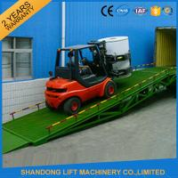 Buy cheap Shipping Container Heavy Duty Industrial Loading Ramps , Steel Loading Dock Truck Ramps from wholesalers