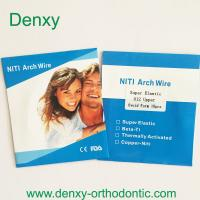 Wholesale Denxy Orthodontic wire Orthodontic niti arch wire Orthodontic stainless steel archwire from china suppliers