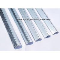 Wholesale Hairline / Brushed Silver YF15 x 15mm Aluminum Corner Guards / Brace / Protector from china suppliers