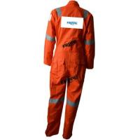 China Fr Reflective Lightweight Fr Coveralls For Oil Gas for sale