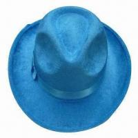 China Men's/Women's Cowboy Hat, Different Styles and Colors are Available on sale