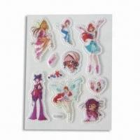 Wholesale Foam and PVC Stickers, Suitable for Decoration, Customized Designs are Accepted from china suppliers
