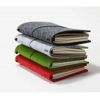 Wholesale A4 A5 A6 A7 B5 B6 line felt recycled journal notebook from china suppliers