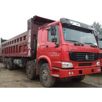 China 12 Wheel 8X4 Used Howo Trucks / 2nd Hand Dump Trucks 2015 Production Years on sale
