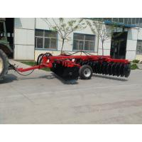 China hydraulic trailed offset heavy-duty disc harrow on sale