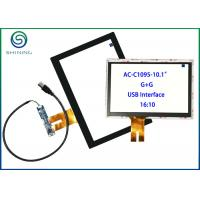 """Wholesale 10.1"""" Industrial Panel PC Touch Screen G + G Structure 1 Year Warranty from china suppliers"""