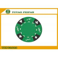 Best Professional Composite 13.5 Gram Numbered Poker Chips With Custom Printed wholesale