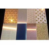 China Stainless Steel decorative Sheet / Plate aisi201 304 316 on sale