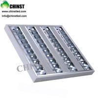 Wholesale T8 grid tube fixtures 600*600mm 40W recessed light panels from china suppliers