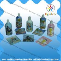 Colored Printing Shrink Sleeve Labels 40 - 60 Micron For Plastic Bottles for sale