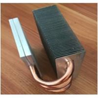 China OEM Fin Copper Heat Sink Customized Copper Pipe HeatSink For Passivite Surface Mount Device on sale