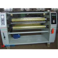 High Speed Plastic Film Pape Roll Slitter Machine Max Cutting Diameter 800mm