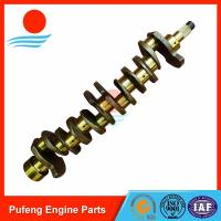Wholesale Isuzu crankshaft on sale, OEM standard 6BB1 crankshaft 1-12310-436-0 1-12310-445-0 1-12310-436-0 for EX100W UH05 from china suppliers