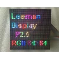 China HD P2.5 Indoor Full Color LED Module 16 Scan SMD 2121 3in1 RGB 160 * 160mm on sale