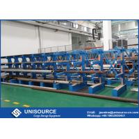 Wholesale Structural I - Beam Steel Cantilever Storage Racks For Long Length Materials Storing from china suppliers