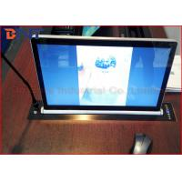 Wholesale Microphone Vertical Motorized LCD Monitor Lift With 17.3 Inch LED Screen from china suppliers