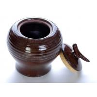 Wholesale Stoneware Chinese Tea Canister , Colored Glaze Tea Storage Jars from china suppliers