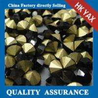 Wholesale machine cut point back rhinestones;pointback crystal rhinestones; point back rhinestone from china suppliers